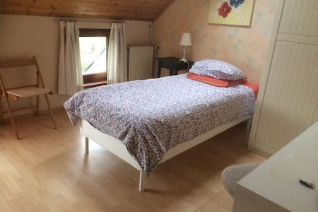 Brigth and friendly single room