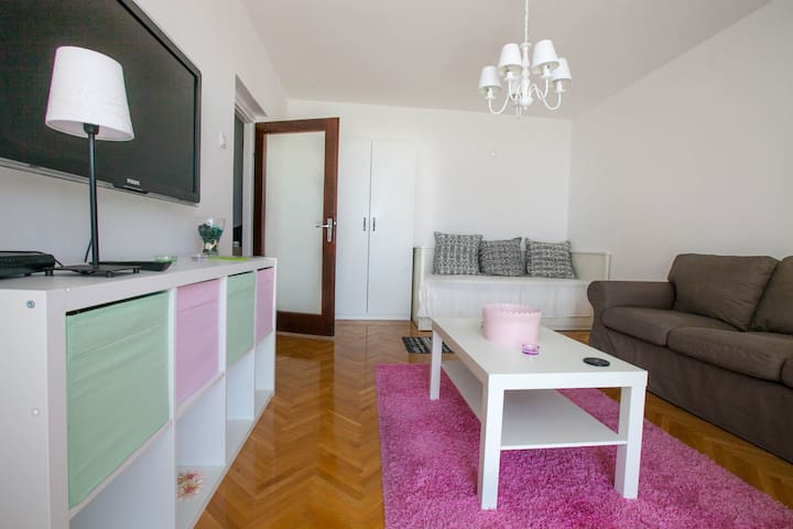 Sunny apartment with Kvarner bay view near center - Rijeka