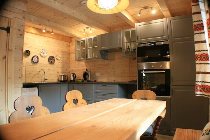 Luxury apartment with private sauna in Kaprun.