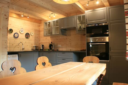 Luxury apartment with private sauna in Kaprun.