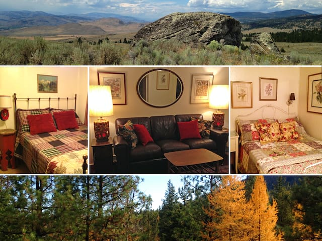 STAY SAFER! 2BR Saskatoon Cottage - Okanogan WA