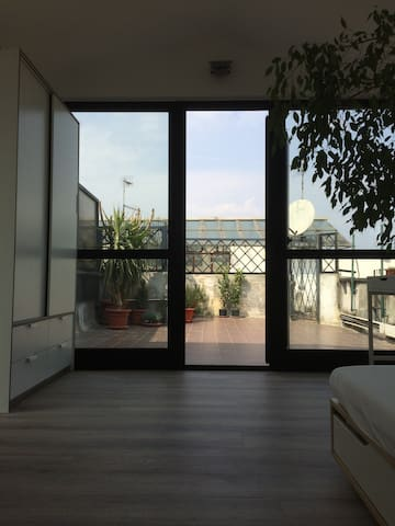 Rooftop loveliest nest downtown Milan. - Milano - House