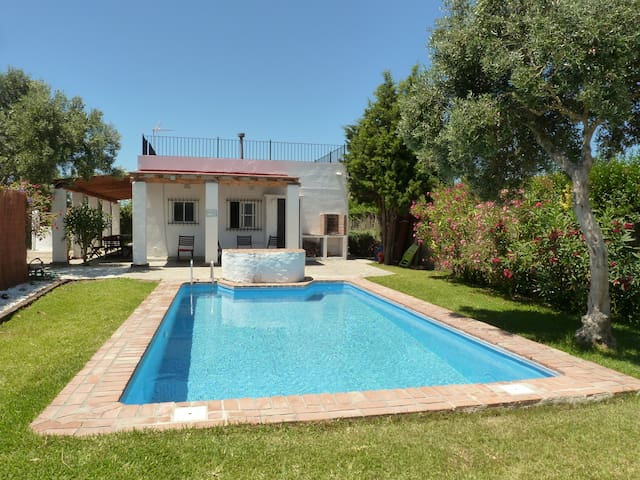 Pretty villa with private pool, parking & garden - El Palmar - Villa