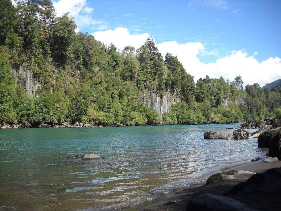 Río Petrohué.