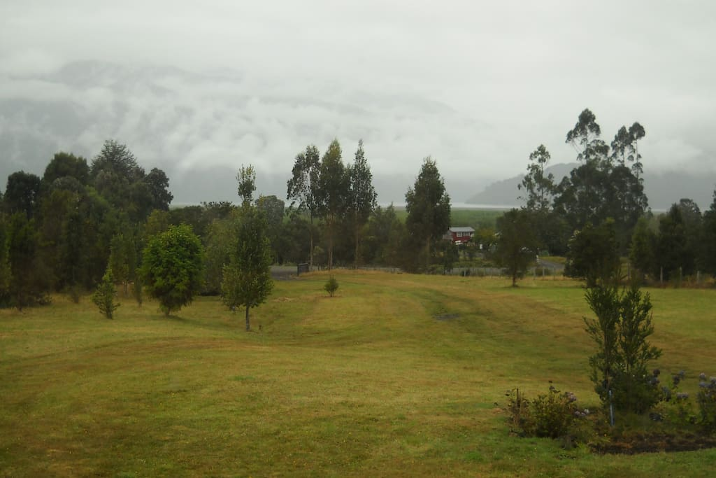 Terreno del Lodge.