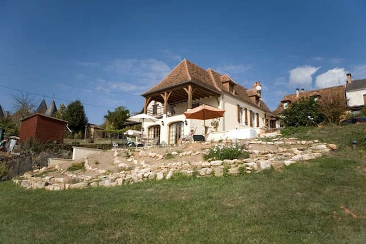 Traditional French House - Saint-Jory-las-Bloux - Hus
