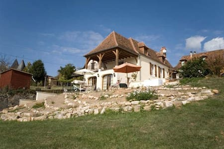 Traditional French House - Saint-Jory-las-Bloux - Dom