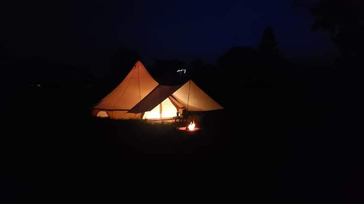 Glamping in the heart of the Finger Lakes