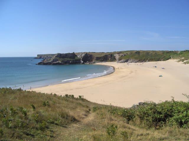 UK BEST BEACH 2018-BARAFUNDLE -A LUXURIOUS&UNIQUE