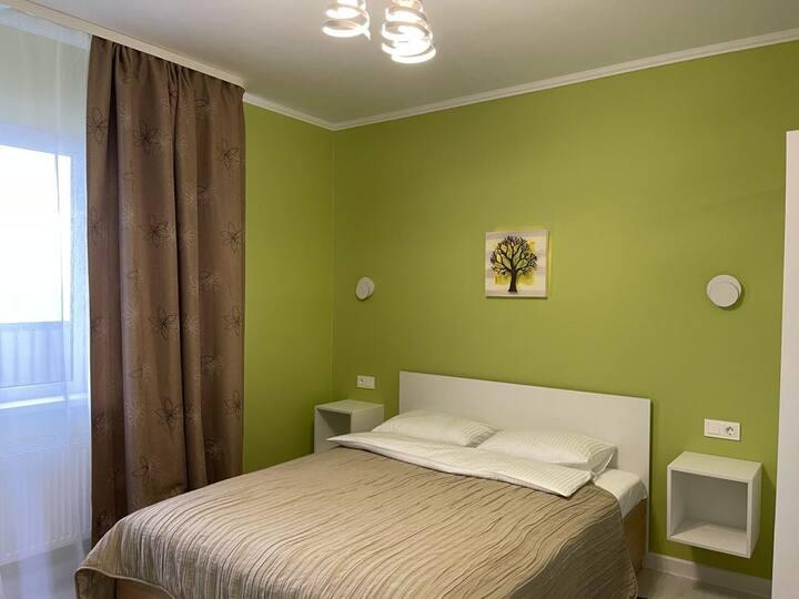 Квартира в новом доме в центре города