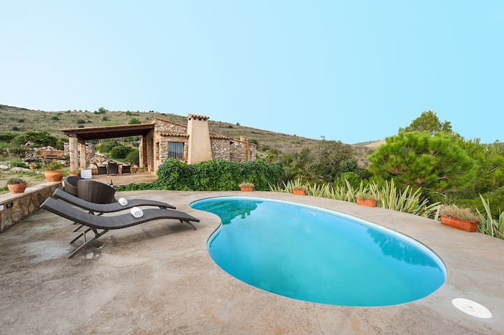 Can Femenias - Cottage with private pool in Artà - Artà - Huis
