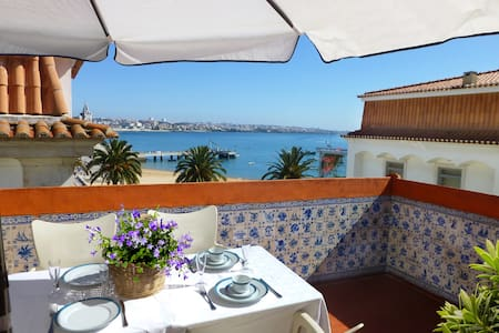 Terrace with view of the Bay Cascais - 2 bedrooms - Cascais - Wohnung