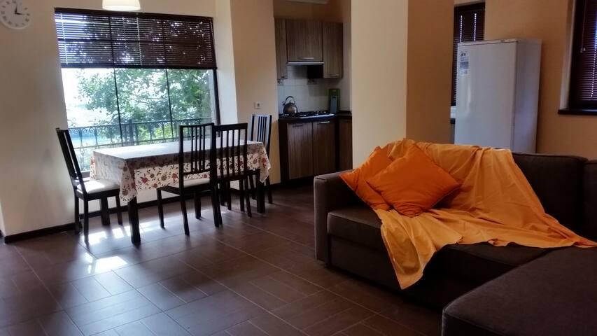 Еще одна уютная квартира! - Vesyoloye - Apartamento