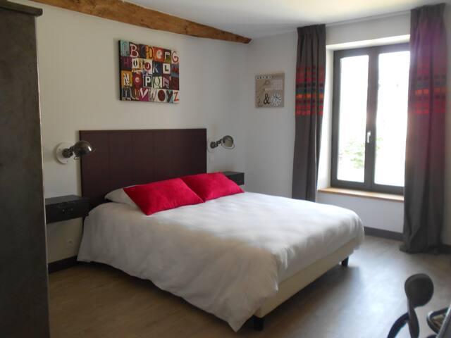 Chambre d'hôte L'Indus - Saint-Mesmes - Bed & Breakfast