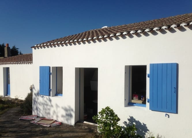 Nice familial house in the center  of the island