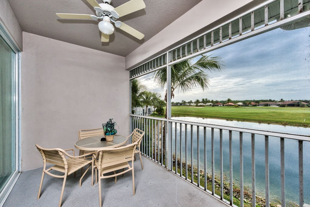 Popular Golf Condo with Great Lake/Golf Views - Messina Golf Condo in the Lely Resort - Naples Florida Vacation Homes