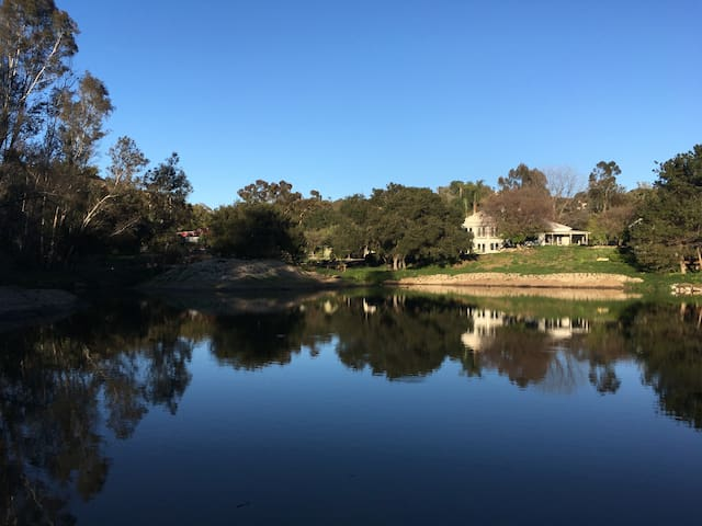 The Historic Pond House - Fallbrook - Huis