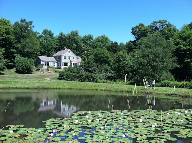 House with hot tub and skating pond - Wilmington - Dom