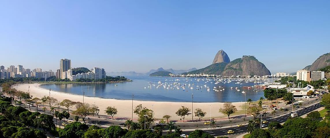In front of Botafogo's beach