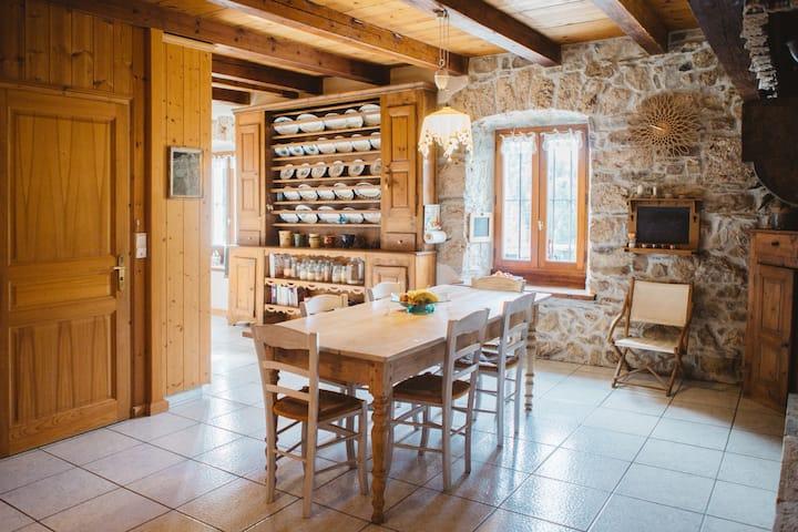 Chambre à la montagne avec petit-déjeuner