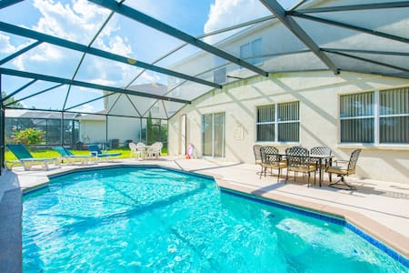House with pool near all Orlando theme parks - Kissimmee