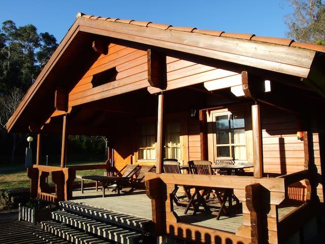 Cabaña de madera - Oleiros