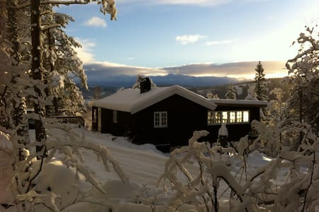 Cosy cottage in the forrest - Stjørdal - Cabana