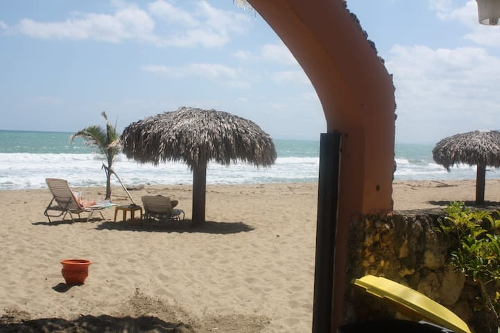 The Beach; only steps from your door!