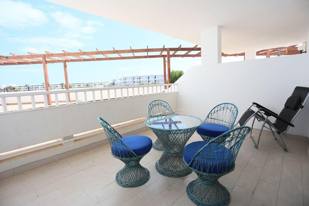 13 m2 terrace