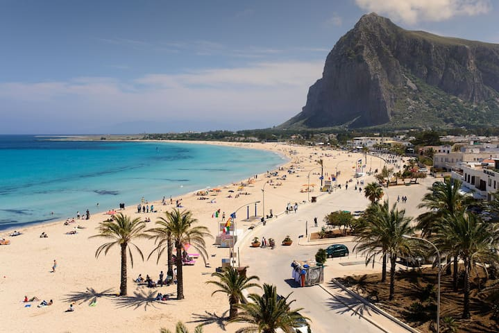 san vito lo capo - 300m beach - up to 6/7 people