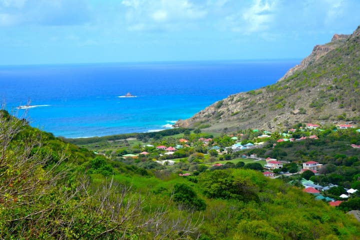 """Sky View"" house - Great view - saint-barthélemy - Ev"