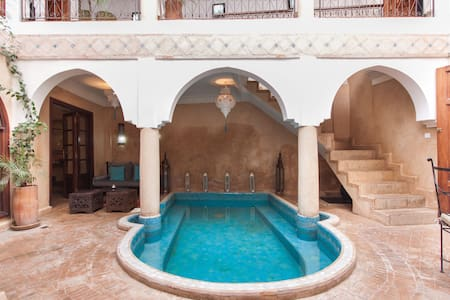 Lovely Riad privatisé pool&WIFI - 马拉喀什(Marrakech) - 独立屋