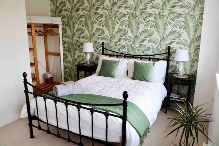 Your bedroom with John Lewis pocket-sprung mattress