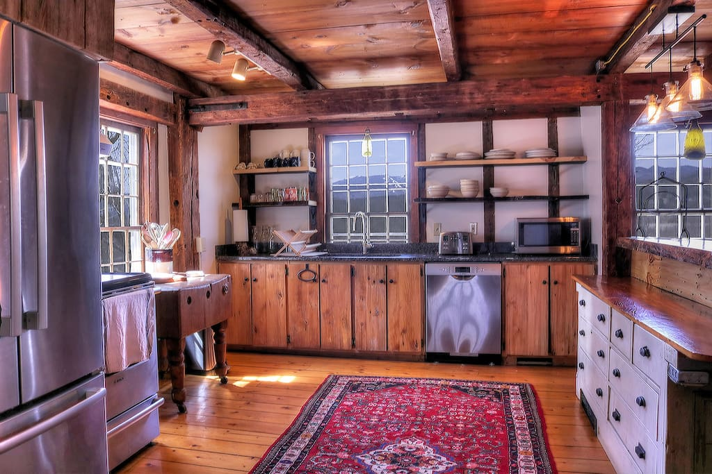 Rustic Kitchen Space