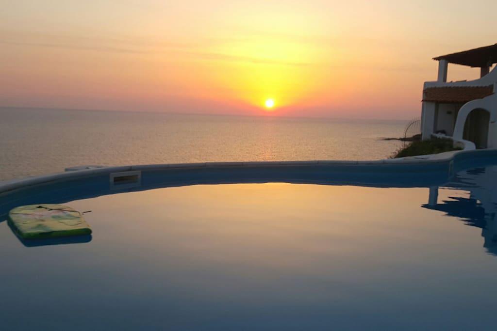 sunrise from balcony