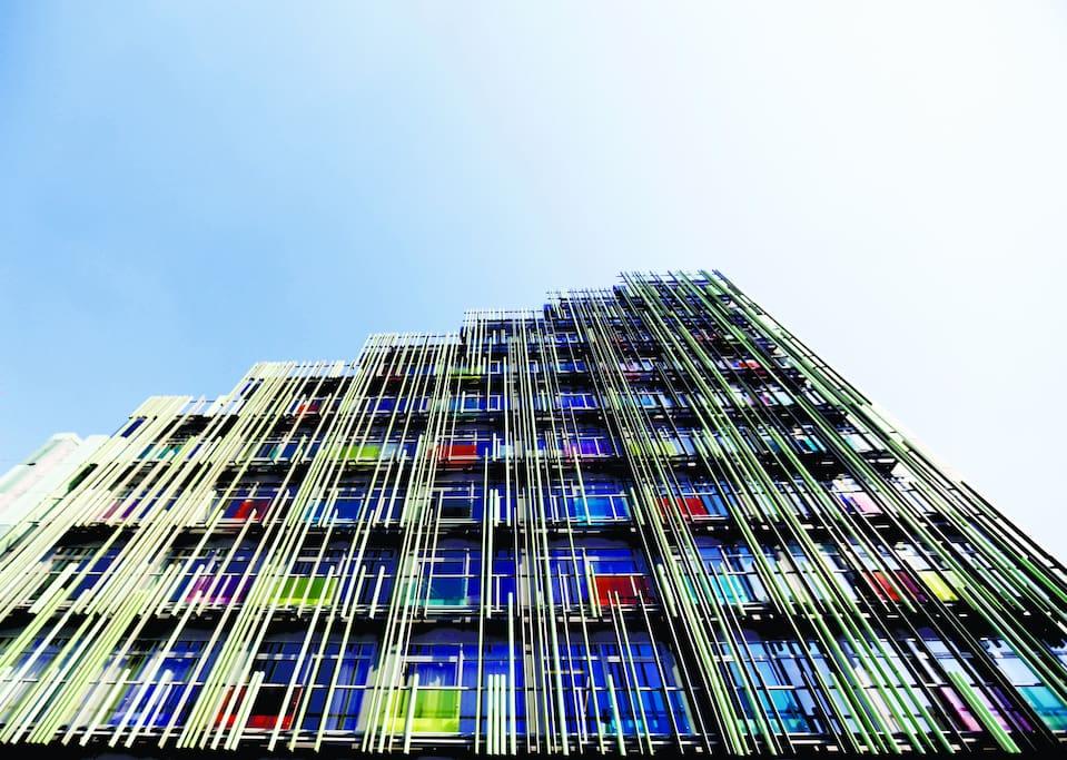 Апартаменты расположены в новом современном здании