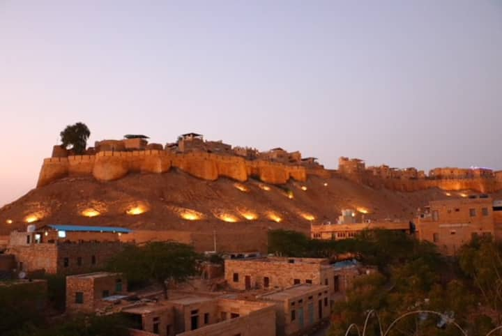 Great view of Jaisalmer fort & Local hospitality