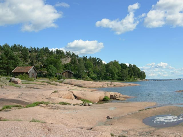 Holiday by the sea, close to Oslo - Sande - Srub