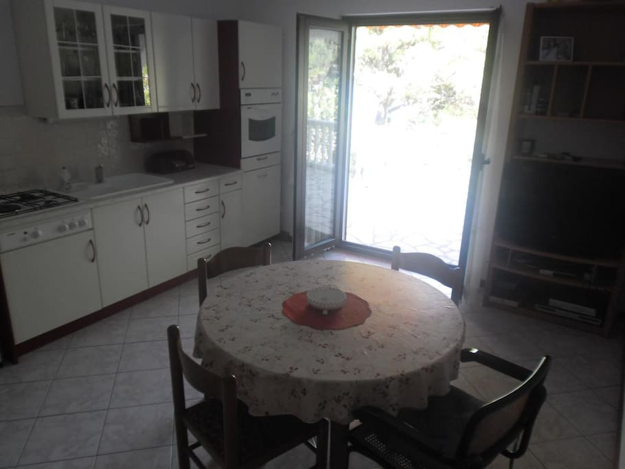Kitchen, Surface: 16 m²