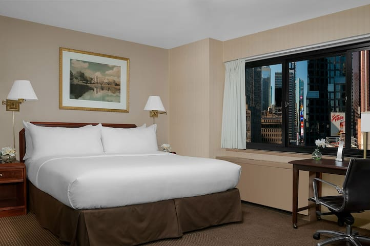 Accessible room with Roll-In Shower, Times Square