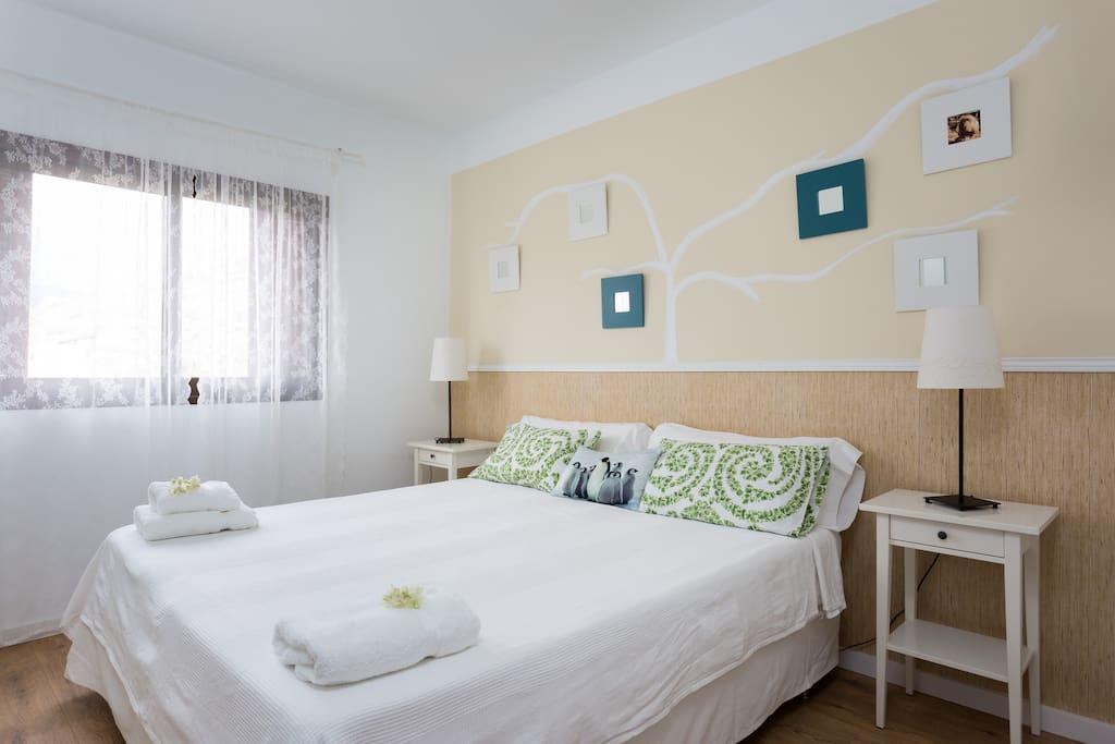 Dormitorio 2º con opción cama de matrimonio