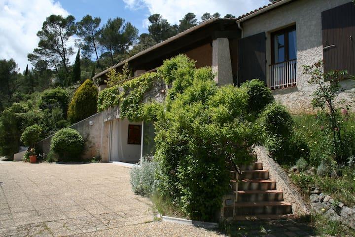 Provence charming villa with pool - Méounes-lès-Montrieux - Apartment