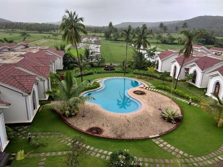 North Goa Fully furnished luxury condominium