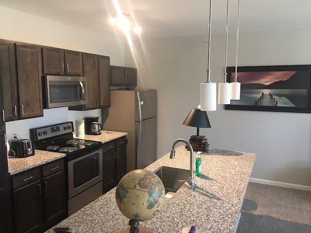 Brand New Beautiful 1 King Size Bed Apt