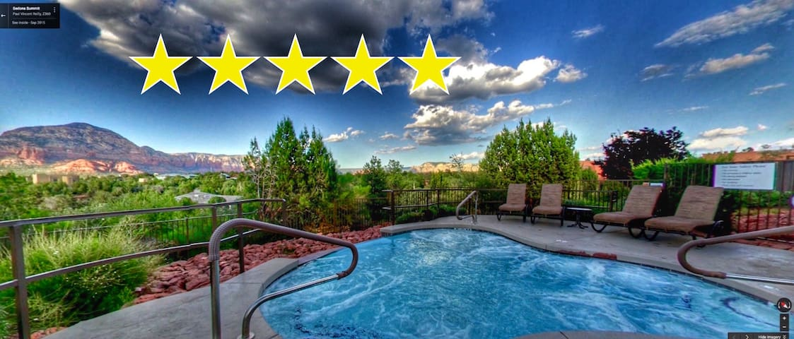 SEDONA West end 3BR Resort Rental w/ SedonaJim