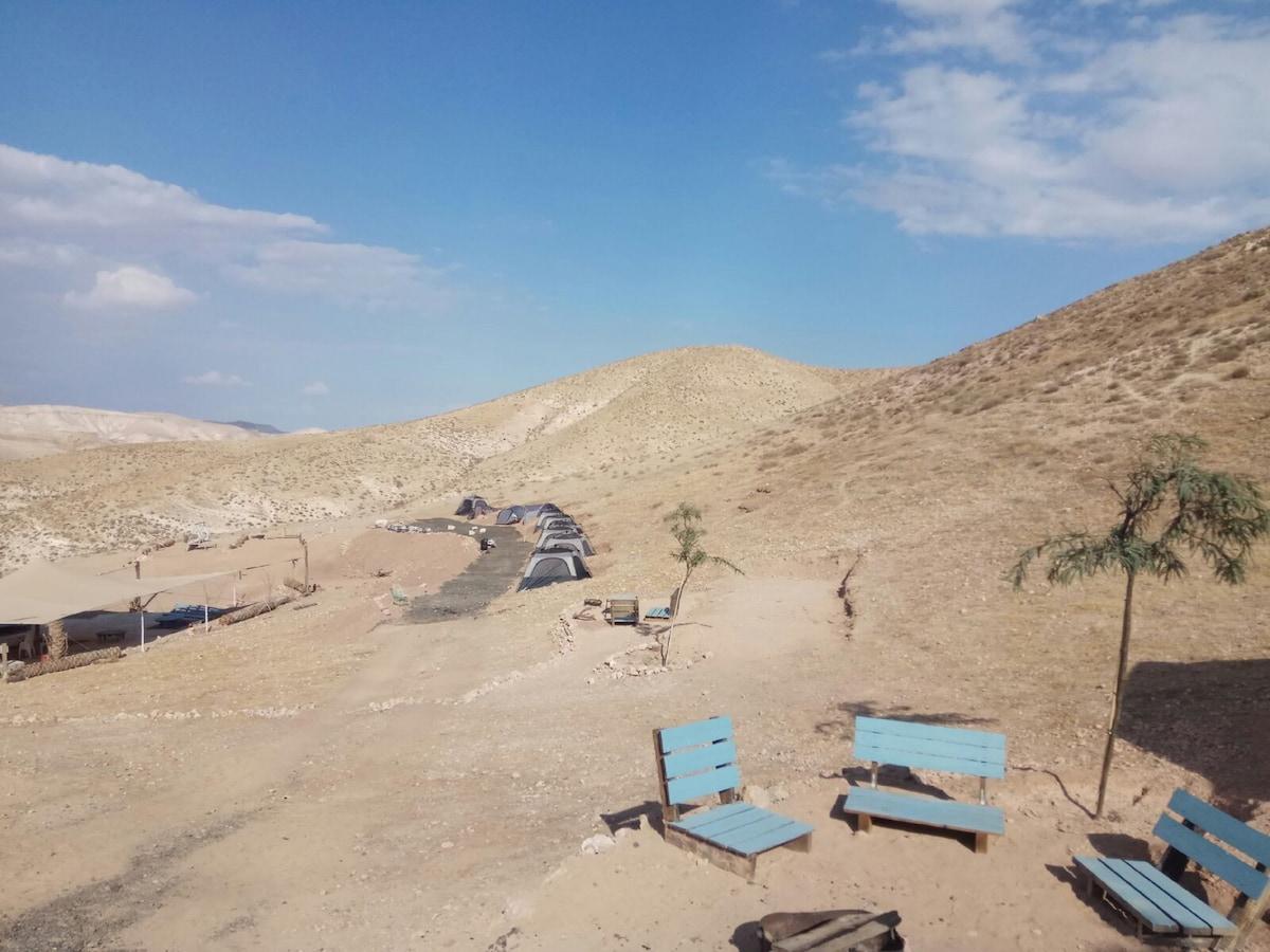 Desert Camping Israel The Gazelle tent Telt til leie i
