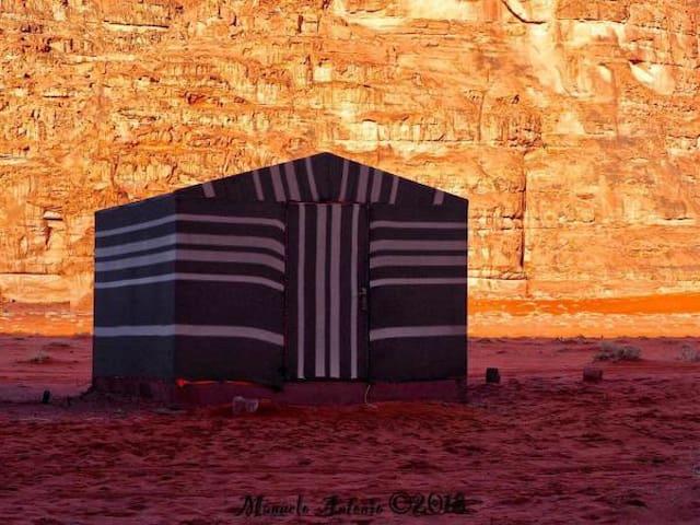 Wadi rum Jordan camp