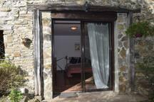 Private studio entrance