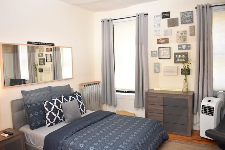 Spacious & Private Harlem/Washington Heights Room