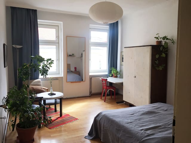 Beautiful and Bright Room close to City Center